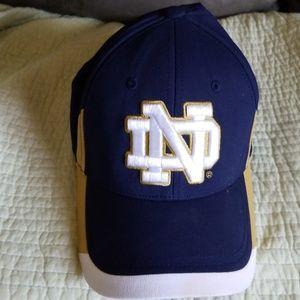 Men's Notre Dame hat size lg/xl  under armour